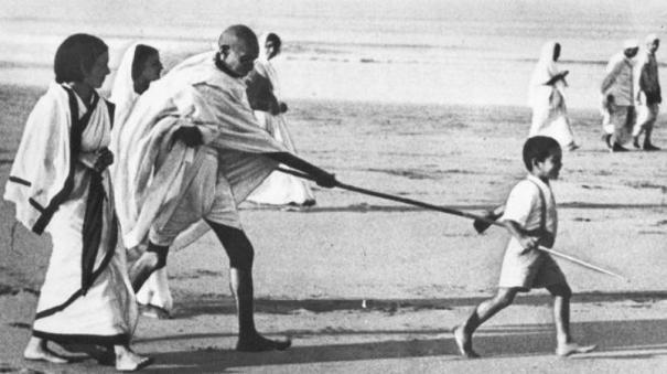 Gandhi for bright future